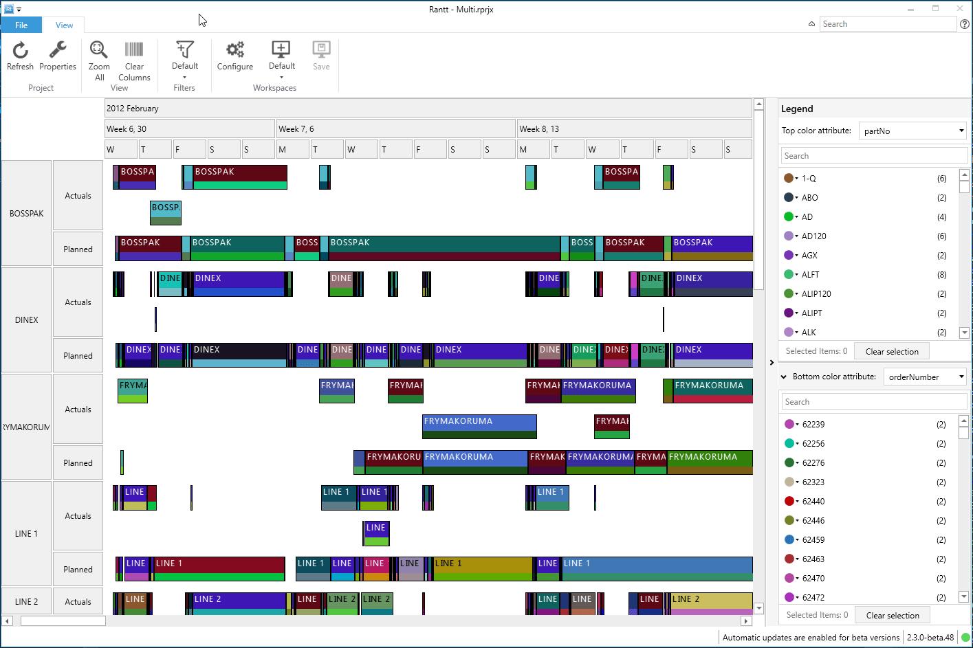 Wildgums open source center log viewer gantt chart ccuart Images